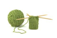 Projeto verde do Mitten Imagem de Stock Royalty Free