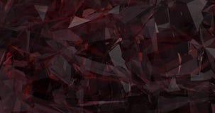Projeto vermelho de vidro da tecnologia do fundo do obturador abstrato (laço) ilustração stock