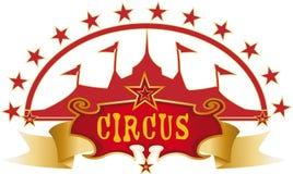 Projeto vermelho do circo Imagem de Stock Royalty Free