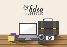 Projeto video do mercado Fotografia de Stock