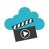 Projeto video do mercado Imagem de Stock Royalty Free