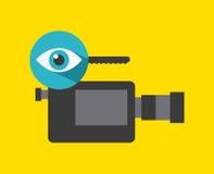 Projeto video do mercado Foto de Stock Royalty Free