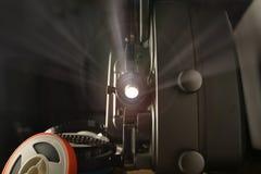 projetor de película de 8mm Foto de Stock Royalty Free