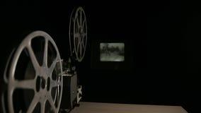 projetor de película de 16mm Imagens de Stock