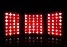 Projetor do estádio em um fundo escuro Imagem de Stock Royalty Free