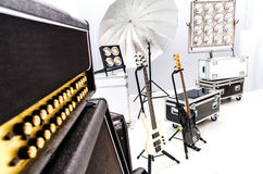 Projetor do salão da iluminação equipment fotos de stock royalty free