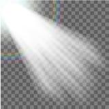 Projetor do vetor Efeito da luz Fotos de Stock