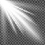 Projetor do vetor Efeito da luz Fotografia de Stock