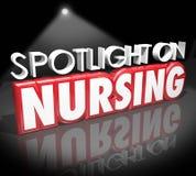 Projetor em cuidados médicos médicos Job Licensed Reg da carreira dos cuidados Fotos de Stock Royalty Free