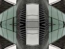 Projetos abstratos modernos da arquitetura foto de stock royalty free