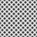 Projetos brancos pretos da repetição do vetor Imagens de Stock Royalty Free