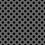 Projetos brancos pretos da repetição do vetor Imagem de Stock Royalty Free