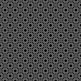 Projetos brancos pretos da repetição do vetor Foto de Stock