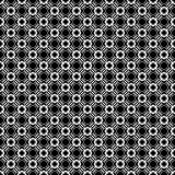 Projetos brancos pretos da repetição do vetor Imagens de Stock