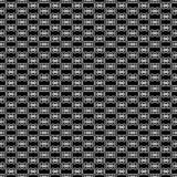 Projetos brancos pretos da repetição do vetor Fotografia de Stock Royalty Free