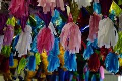 Projetos coloridos do Pinata Imagens de Stock