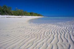 Projetos da areia Foto de Stock Royalty Free