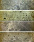 Projetos da bandeira de Grunge Imagem de Stock