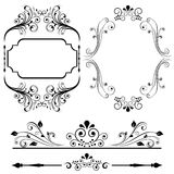 Projetos da beira e do frame Imagem de Stock Royalty Free