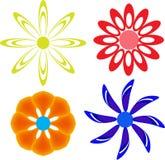 Projetos da flor Fotografia de Stock Royalty Free