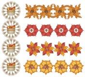 Projetos da folha do outono Fotos de Stock Royalty Free