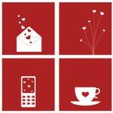 Projetos do amor Imagens de Stock Royalty Free