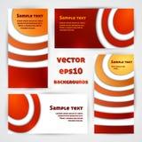 Projetos do vermelho Imagem de Stock Royalty Free
