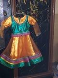 Projetos do vestido do bebê da menina fotos de stock royalty free