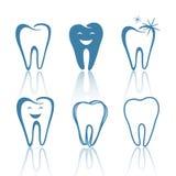Projetos dos dentes ilustração royalty free