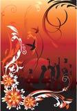 Projetos florais, ilustração royalty free