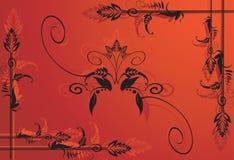 Projetos florais Imagens de Stock