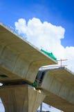 Projets concrets structurels BTS de pots de colonnes Photos stock