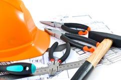 Projets de construction Image libre de droits