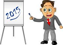 Projets pour 2015 Photos libres de droits