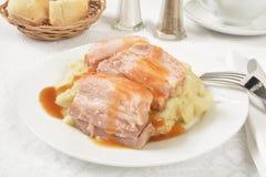 Prok belly roast Stock Photography