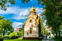 Prokhorov kapell Arkivfoto