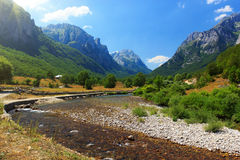 Prokletije national park Royalty Free Stock Photos