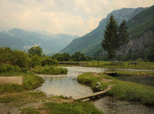 Prokletije national park Royalty Free Stock Image