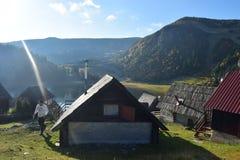 ProkoÅ-¡ ko Jezero Planina Vranica Lizenzfreie Stockbilder