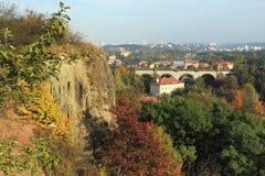 Prokop valley in Prague Stock Images