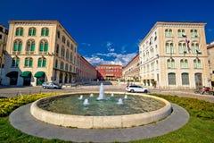 Prokuratice square in Split waterfront Stock Photo