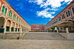 Prokurative square in city of Split Stock Photography