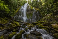 Prokurentów spadki, Środkowy Oregon zdjęcia royalty free