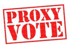 PROKURENTU głosowanie zdjęcie royalty free