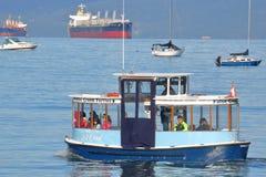 Prom angielszczyzn zatoki w Vancouver skrzyżowanie Fotografia Royalty Free