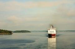 prom baltic morza Fotografia Royalty Free