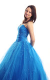 Prom or Bridesmaid dress Stock Photo