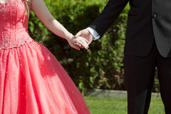 Prom Date stock photography