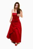 Prom dress Royalty Free Stock Photo