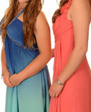 Prom Dresses Royalty Free Stock Photo